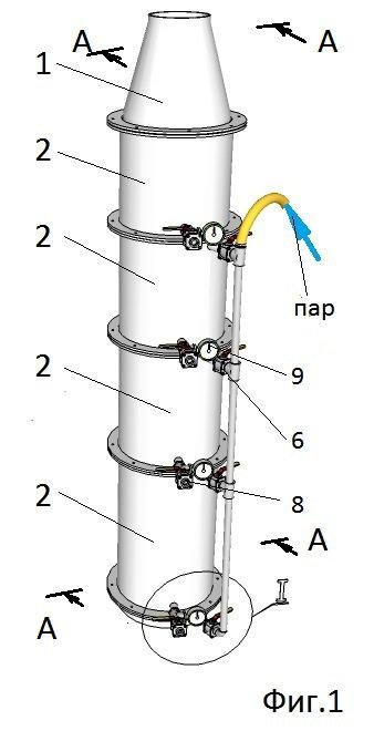 Установка  для высокотемпературной сепарация смеси газов.jpg
